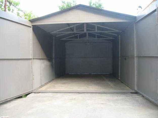 Металлический неразборный гараж в Воронеже