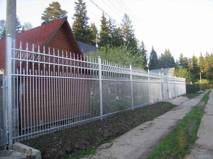 Сварной секционный забор в Воронеже