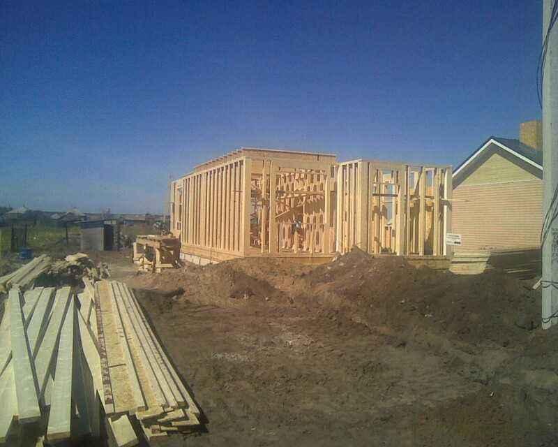 Строительство домов - Ольховатка