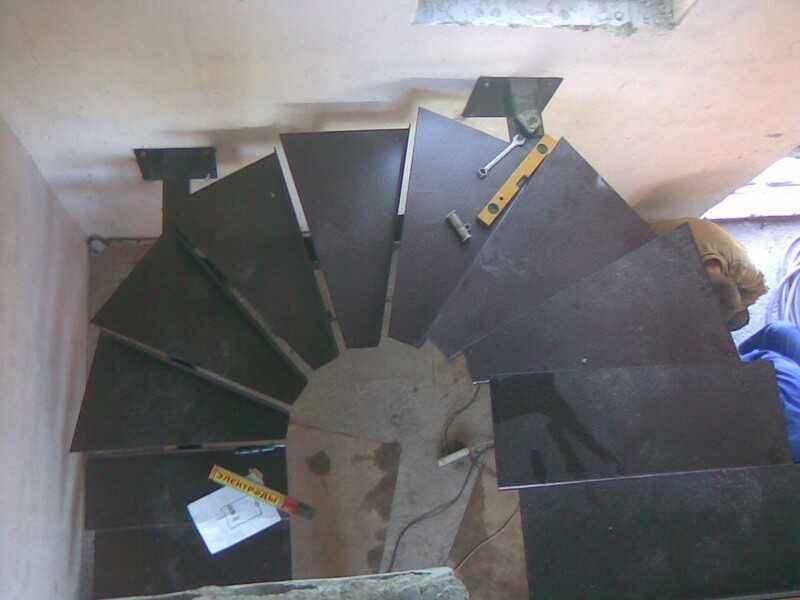 Металлическая лестница в Воронеже