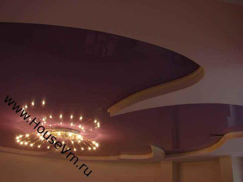 Монтаж гибких карнизов Gaudi в Воронеже