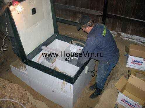 Автономная канализация Воронеж