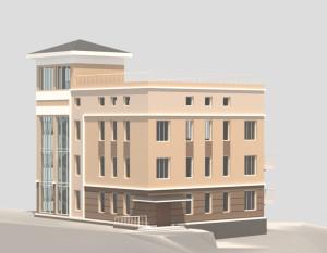 Фасад офисного здания